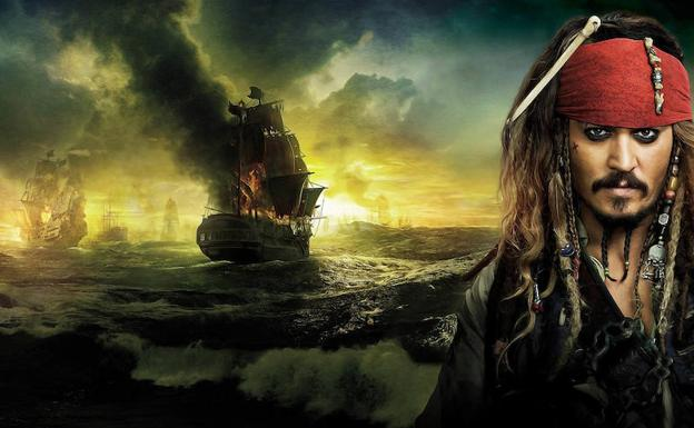 Johnny Deep protagoniza 'Piratas del Caribe'