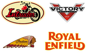 Victory, Indian y Royal Enfield