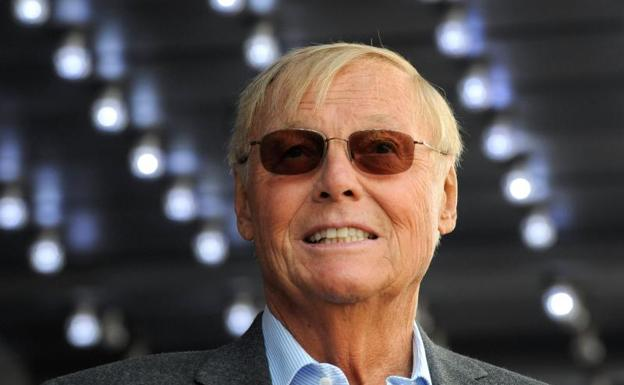 El actor Adam West.