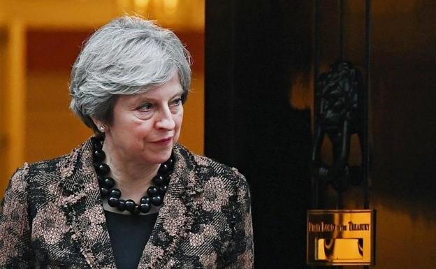 Theresa May, primera ministra británica.