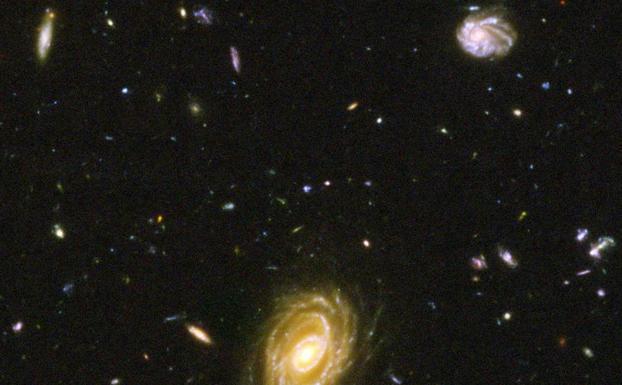 Resultado de imagen de Hallan la galaxia más lejana -   Internet Agencia