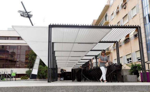 Reducen Un 20 La Ocupación De Terrazas En La Plaza De