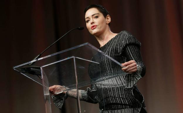 Rose McGowan./Reuters