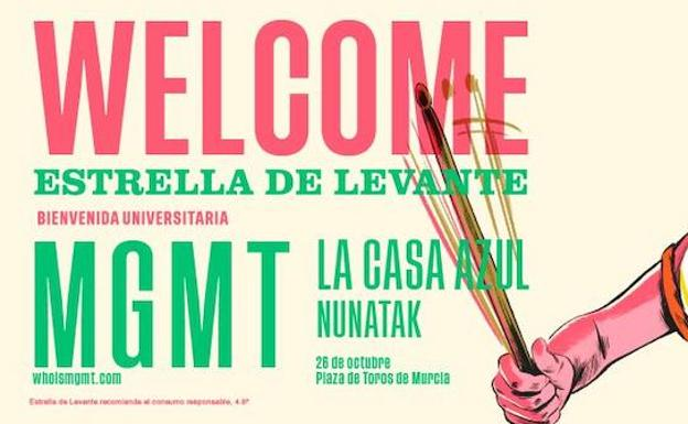 Cartel promocional del 'Welcome 2018'.