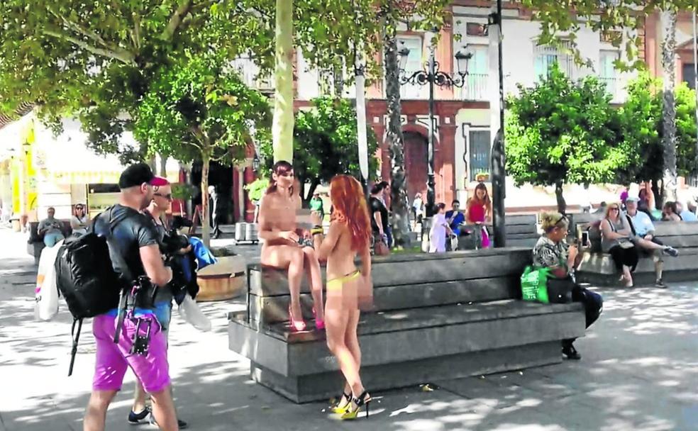 Peliculas porno en calles de madrid El Porno Salta Ahora A La Calle La Verdad