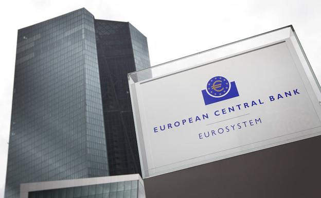 Fachada del Banco Central Europeo./Afp