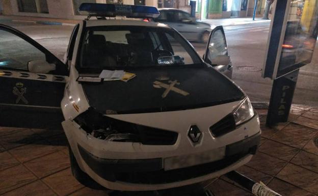 Estado del vehículo tras el accidente./LV
