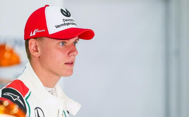Mick Schumacher. /Stephanie Lecocq (Reuters)