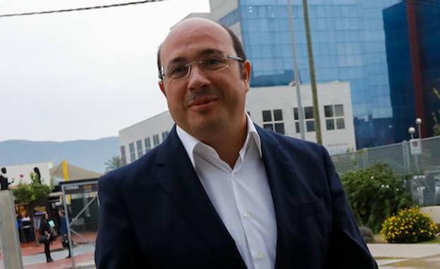 Pedro Antonio Sánchez. / EDU BOTELLA / AGM