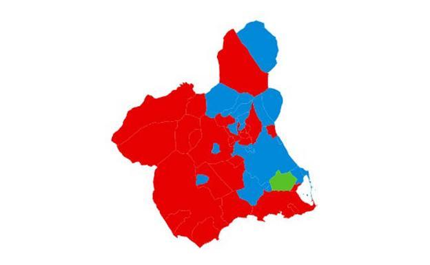 Mapa Region De Murcia Elecciones.Resultados Elecciones Generales Murcia El Mapa Municipal De