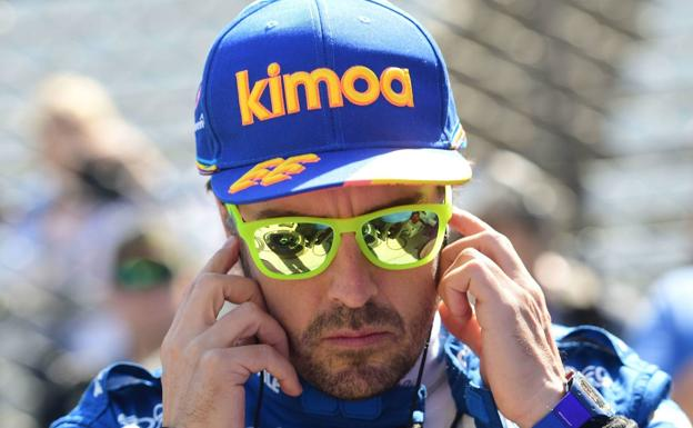 Fernando Alonso. /Thomas J. Russo-USA TODAY Sports