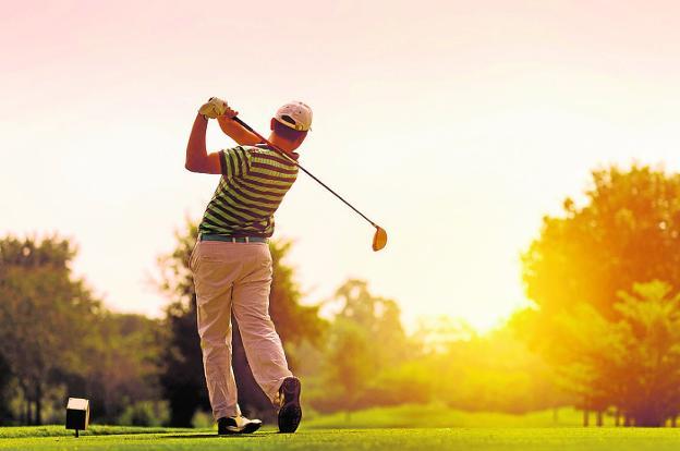 El golf es una actividad con gran seguimiento en Molina de Segura. /Ayto. Molina de Segura