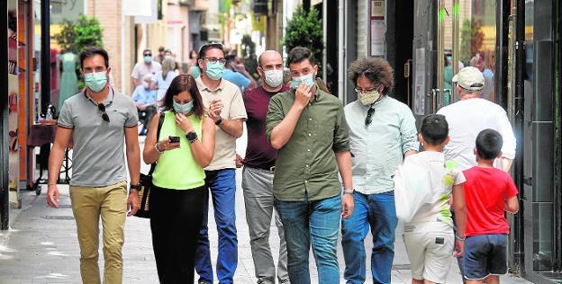 Coronavirus en Murcia: La mascarilla es ya obligatoria en la calle ...