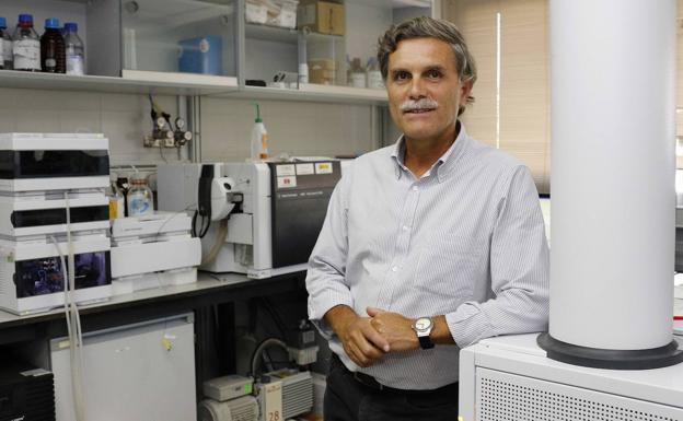 El doctor Francisco Tomás Barberán, uno de los investigadores reconocidos, en las instalaciones del Cebas-CSIC, en una fotografía de archivo./Fran Manzanera