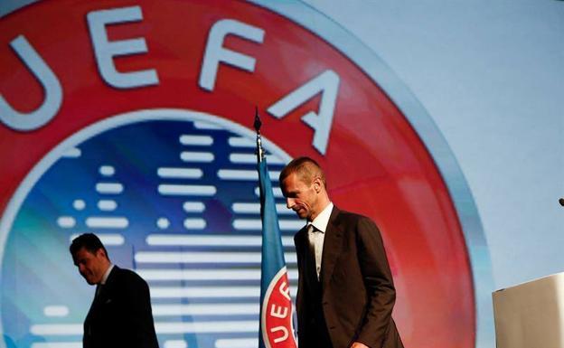 Aleksander Ceferin, President of UEFA.