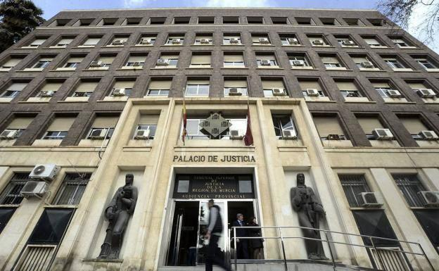 Murcia Palace of Justice, in a file image.