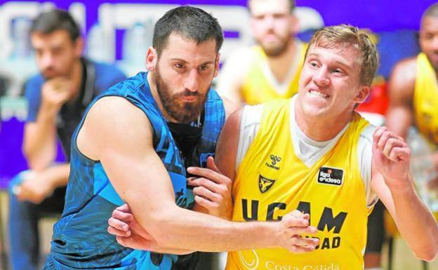 David DiLeo (right), UCAM player, in a file image.