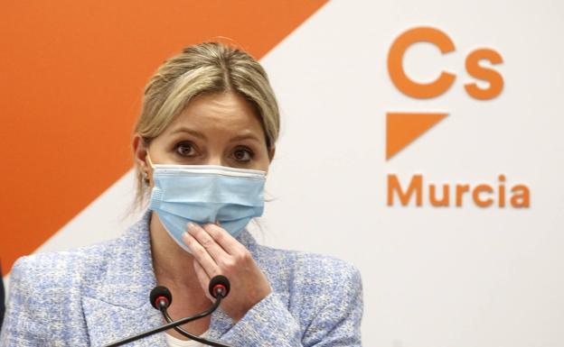 The regional coordinator of Citizens in the Region of Murcia, Ana Martínez Vidal.
