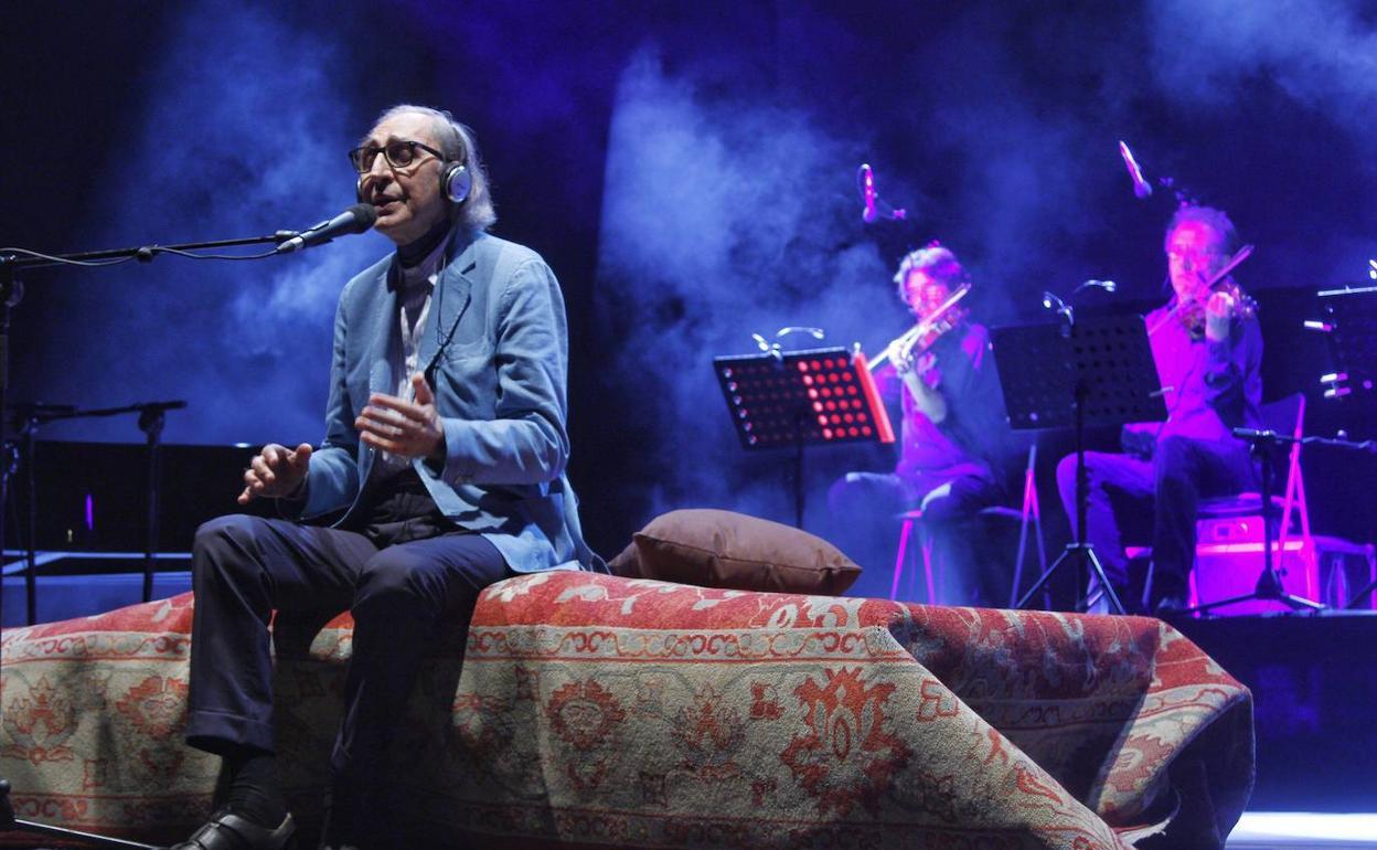 El último concierto de Franco Battiato en la Región | La Verdad
