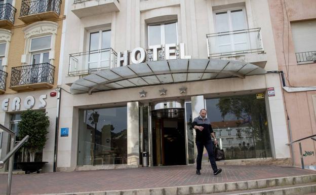 Imagen de archivo de un hotel del centro de Cartagena. /Pablo Sánchez / AGM