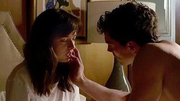 Cincuenta sombras de Grey: ¿Dakota Johnson y Jamie Dornan en la ...